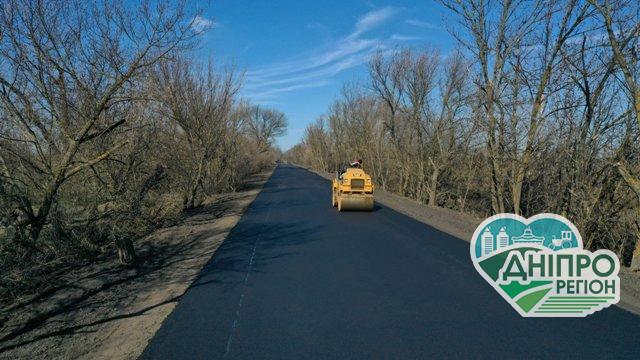 На Дніпропетровщині будують дороги. Фотозвіт.