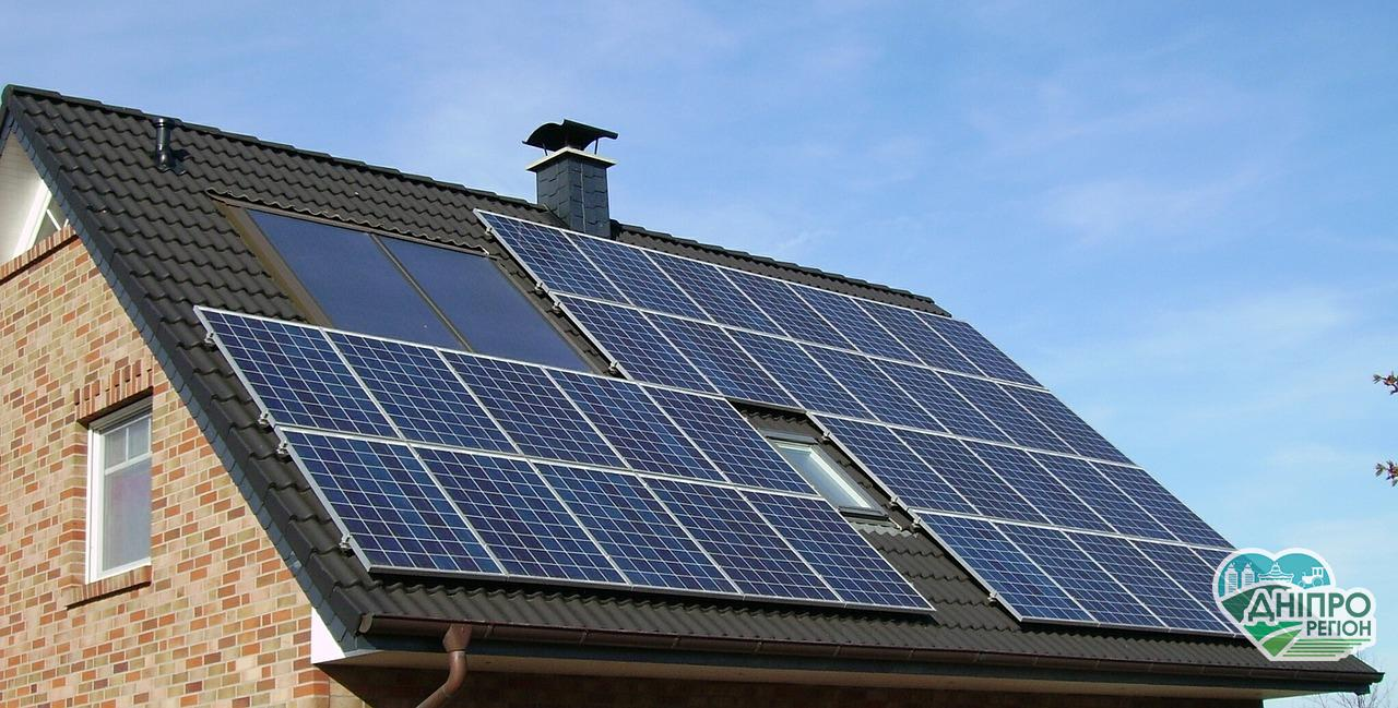 Дніпропетровщина -лідер із встановлення сонячних панелей