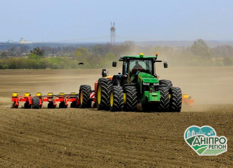 Посівна кампанія: аграрії Дніпропетровщини посіяли понад 137 тис га зернових