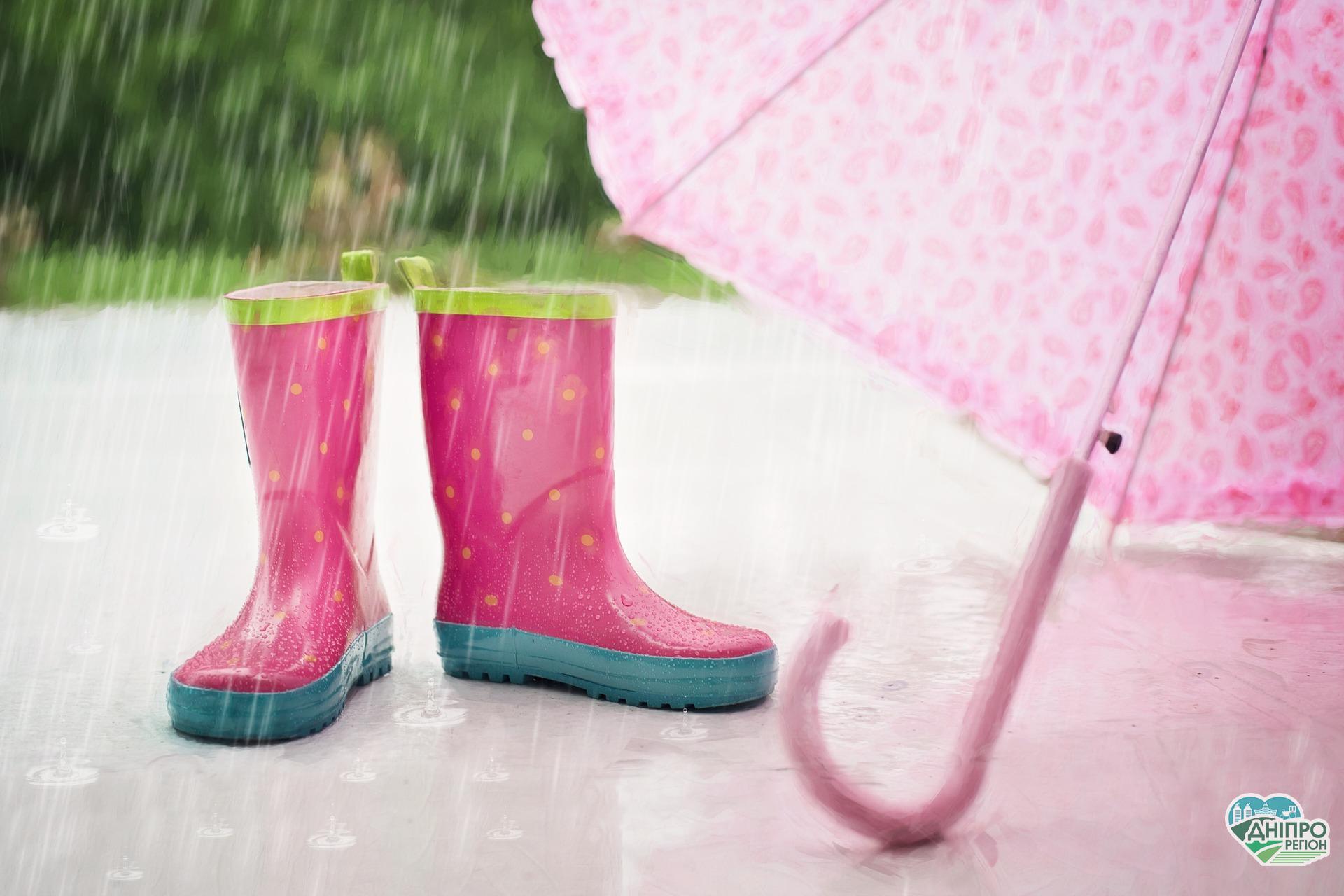 Погода на тиждень: на Дніпропетровщині очікуються дощі з грозами