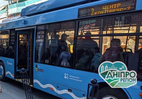 У Дніпрі відновили роботу ще 20 автобусних маршрутів