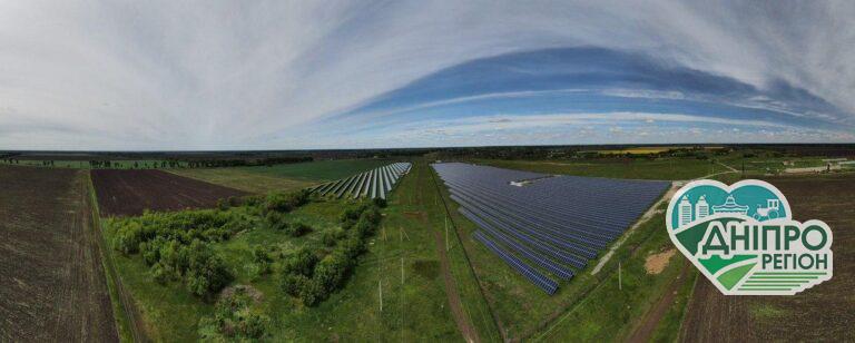 У селі Жданівка завершили будівництво сонячної електростанції