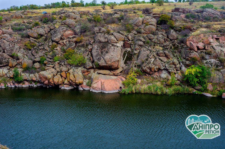 Дніпровські дива: Токівські водоспади
