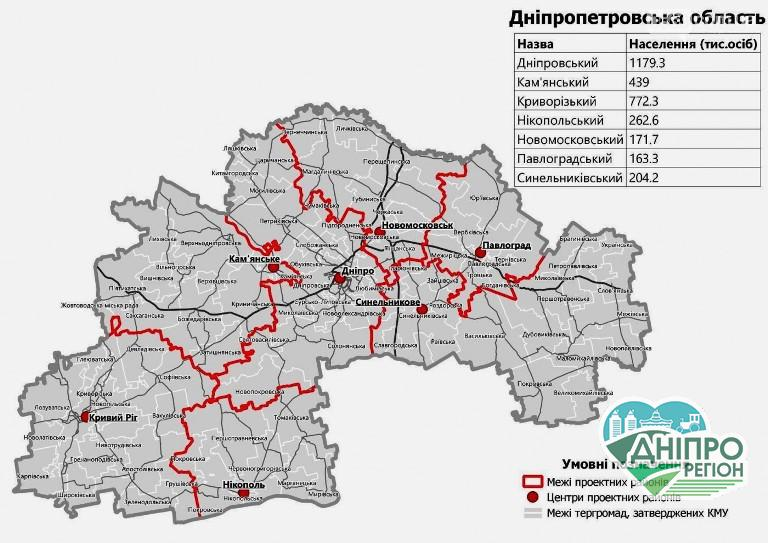 Дніпропетровська облрада запропонувала варіанти вирішення проблем з адмінустроєм