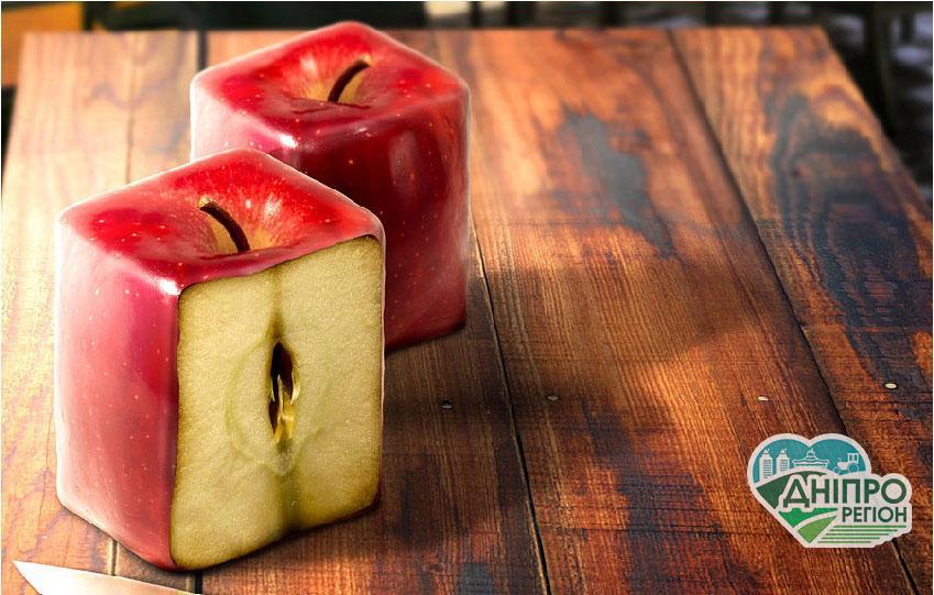В Україні зростає попит на квадратні яблука