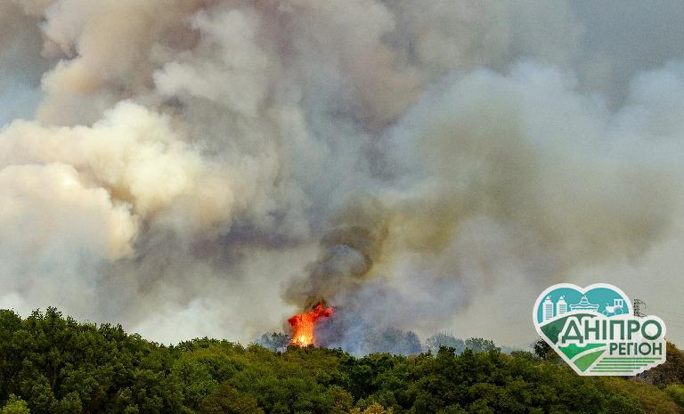 Дніпропетровщина – у зоні ризику: Рівень пожежної небезпеки дуже високий