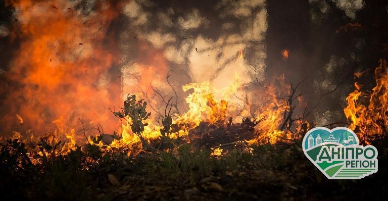 3700 пожеж з початку року сталося на Дніпропетровщині