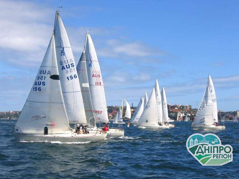 Яхтсмени з Дніпропетровщини на перегонах: Виборюємо медалі!