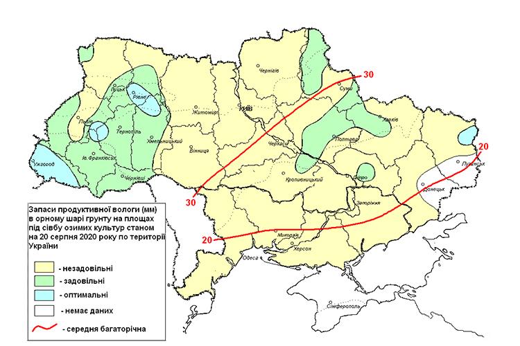 Засуха в Украине: Днепр и область в критической зоне