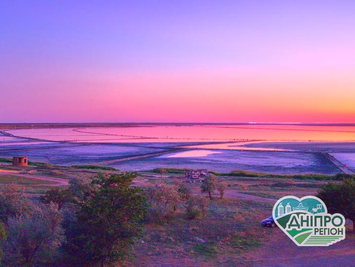 Рожеве озеро онлайн: в одному з найпопулярніших місць Херсонщини встановили веб-камеру