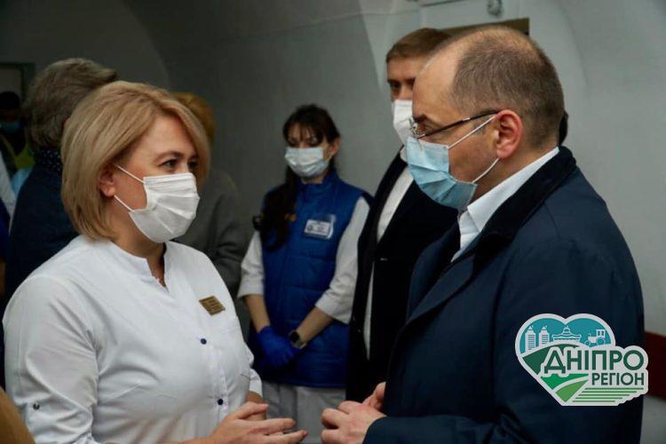 Максим Степанов перебуває з робочим візитом на Дніпропетровщині: виявлені основні проблеми в медицині