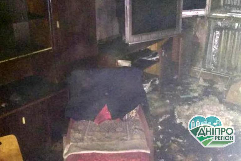 На Дніпропетровщині у Жовтих Водах на пожежі загинула людина