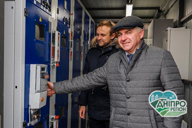 Межівська ОТГ на Дніпропетровщині «зазеленіла» сонячною енергією (фото)