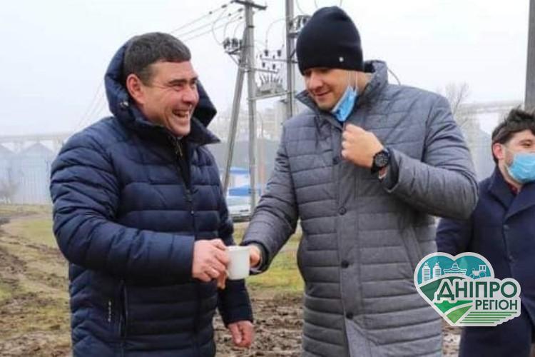 Напередодні Нового року на Дніпропетровщині відкрили новий водогін