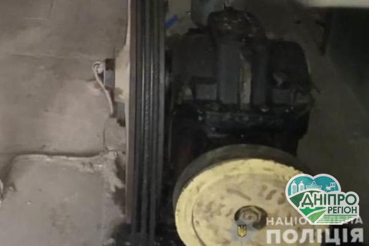 На Дніпропетровщині у Кам`янському спіймали злодія, що грабував ліфти у багатоповерхівках