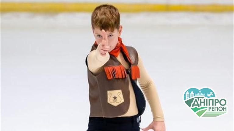 Юні фігуристи з Дніпра на всеукраїнських змаганнях вибороли 5 нагород