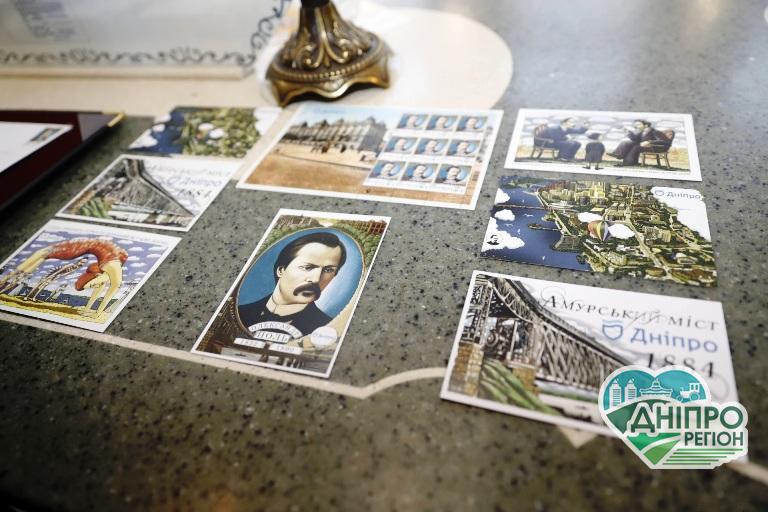 У Дніпрі в рамках програми «Рік Олександра Поля» випустили унікальну поштову марку (фото)