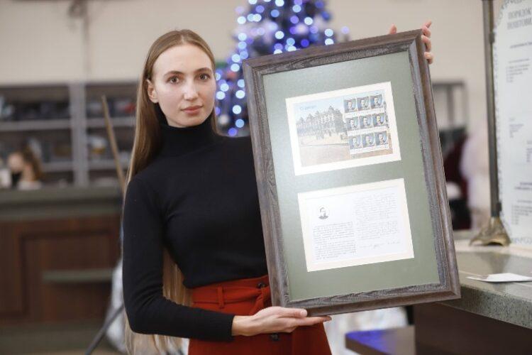 У Дніпрі в рамках програми «Рік Олександра Поля» випустили унікальну поштову марку