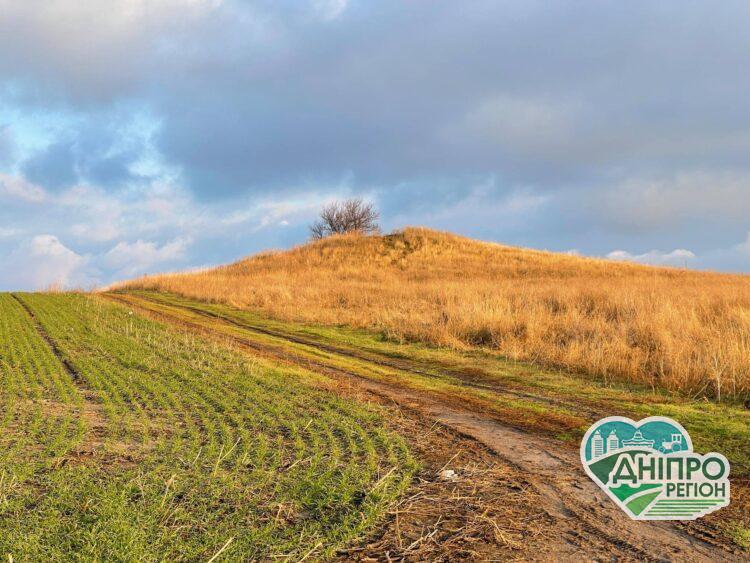 На Дніпропетровщині невідомі розкопали курган