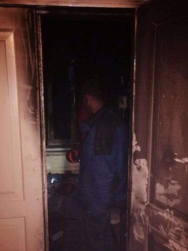 Необхідна допомога: в Дніпрі ветеран АТО втратив все майно під час пожежі