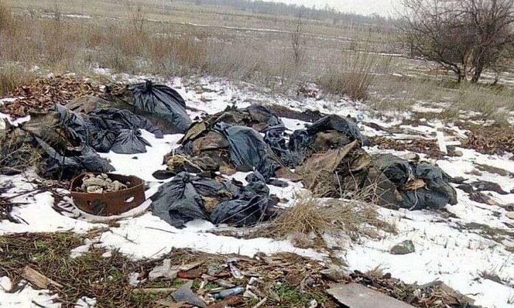 В Дніпрі Діївка потопає в смітті