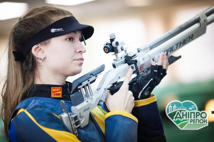 Дніпрянки вибороли 5 медалей на чемпіонаті україни з кульової стрільби для спортсменів із порушенням слуху