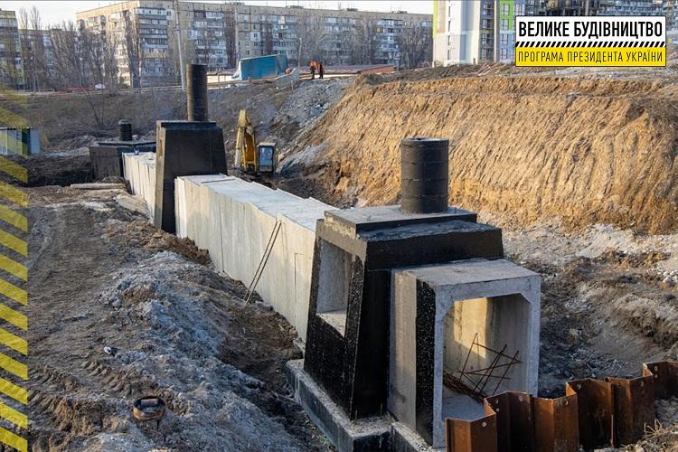На об'їзній дорозі Дніпра будують дворівневу розв'язку