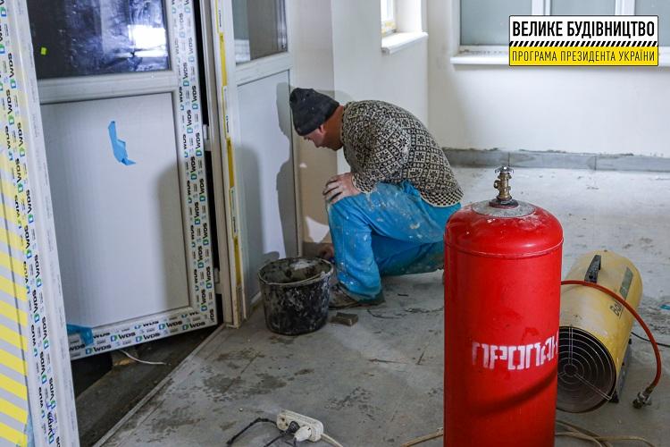 У приймальному відділенні Дніпровської лікарні №9 завершують реконструкцію діагностичного блоку