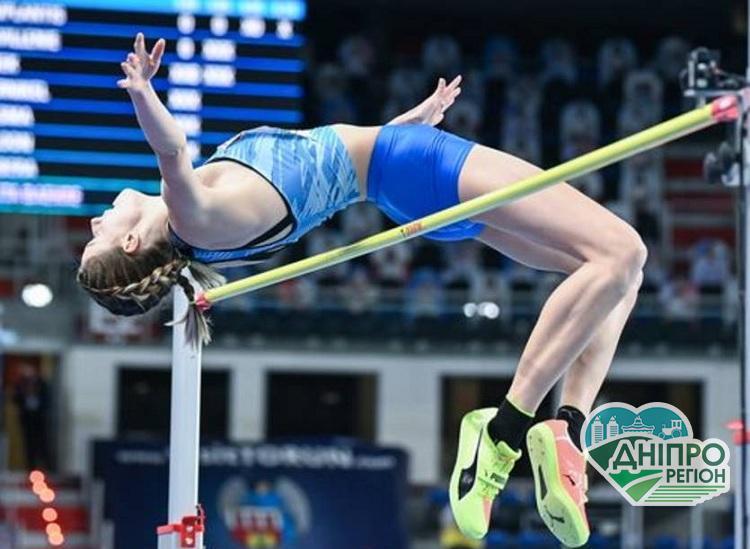 Дніпрянка виборола «золото» на Чемпіонаті Європи зі стрибків у висоту