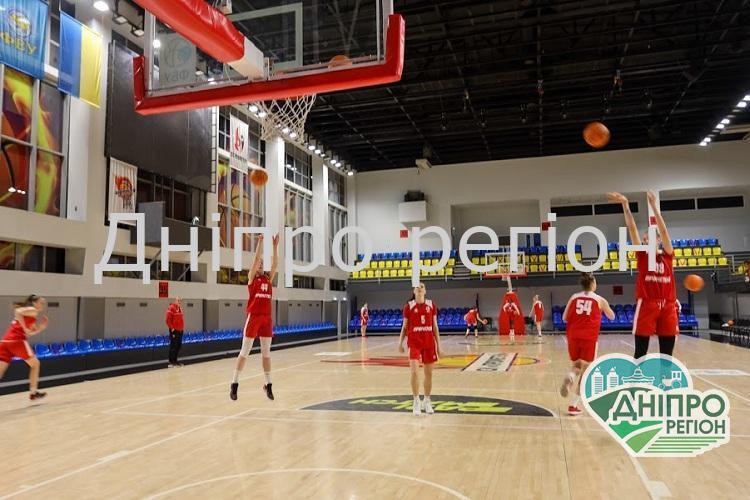 Баскетболістки Дніпропетровщини готуються до фінальних ігор європейської жіночої ліги