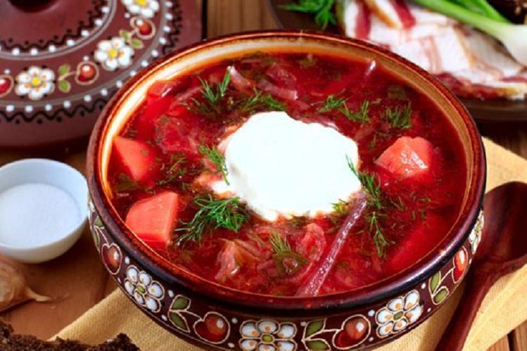 Український борщ потрапив в топ-20 кращих супів світу