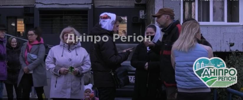 На мітинг вийшли люди: у Дніпрі на ж/м Сонячний мешканці проти новобудови (Відео)