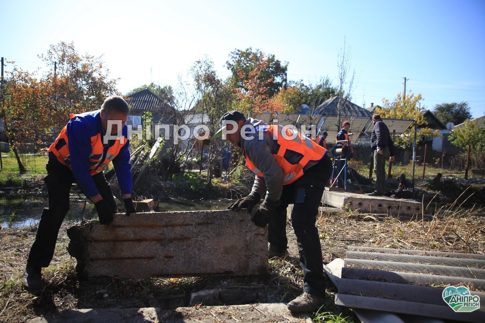 У Дніпрі триває очищення річки Гнилокіш. За що місцеві мешканці можуть отримати штрафи?
